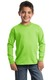 DISCONTINUED  Port & Company ®  - Youth Long Sleeve Essential Tee. PC61YLS
