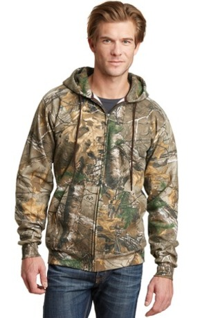 Russell Outdoors -  Realtree ®  Full-Zip Hooded Sweatshirt. RO78ZH