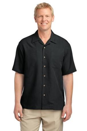 Port Authority ®  Patterned Easy Care Camp Shirt. S536
