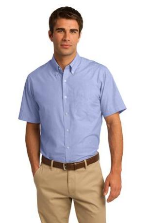 Port Authority ®  Short Sleeve Crosshatch Easy Care Shirt. S656
