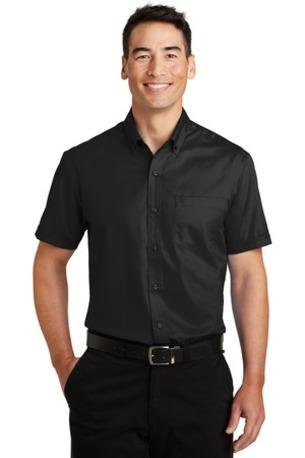 Port Authority ®  Short Sleeve SuperPro -  Twill Shirt. S664