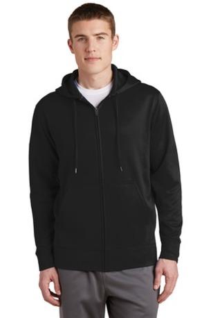 Sport-Tek ®  Sport-Wick ®  Fleece Full-Zip Hooded Jacket.  ST238