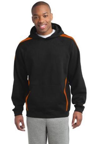 Sport-Tek ®  Sleeve Stripe Pullover Hooded Sweatshirt. ST265