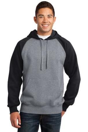 Sport-Tek ®  Raglan Colorblock Pullover Hooded Sweatshirt. ST267