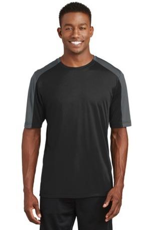 Sport-Tek ®  PosiCharge ®  Competitor -  Sleeve-Blocked Tee. ST354