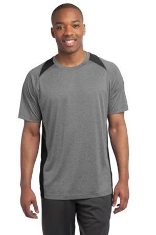 Sport-Tek ®  Heather Colorblock Contender -  Tee. ST361
