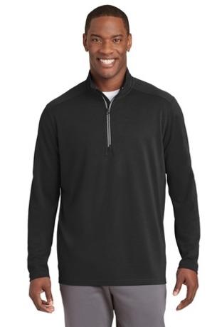 Sport-Tek ®  Sport-Wick ®  Textured 1/4-Zip Pullover.  ST860