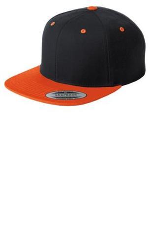 Sport-Tek ®  Flat Bill Snapback Cap. STC19