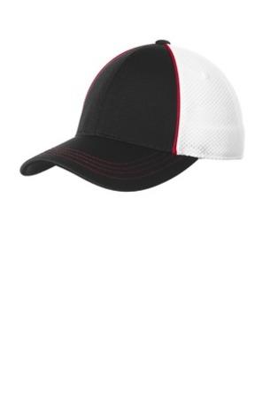 Sport-Tek ®  Piped Mesh Back Cap. STC29