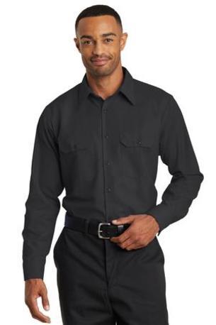 Red Kap ®  Long Sleeve Solid Ripstop Shirt. SY50
