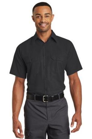 Red Kap ®  Short Sleeve Solid Ripstop Shirt. SY60