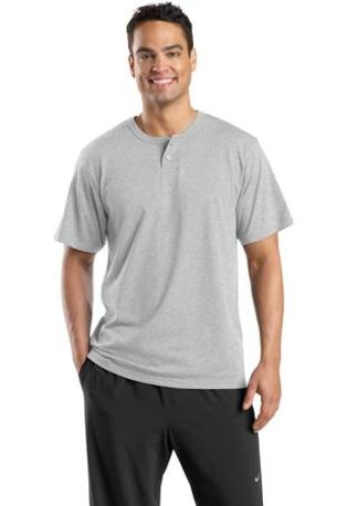 DISCONTINUED  Sport-Tek ®  Short Sleeve Henley.  T210