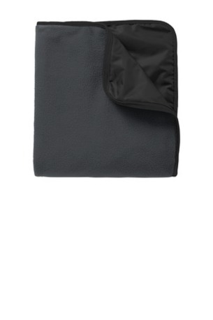 Port Authority ®  Fleece & Poly Travel Blanket. TB850