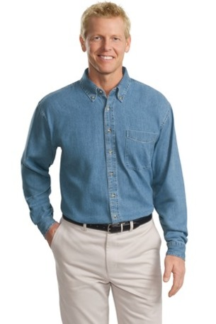 Port Authority ®  Tall Long Sleeve Denim Shirt. TLS600