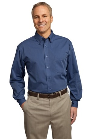 Port Authority ®  Tall Tonal Pattern Easy Care Shirt. TLS613