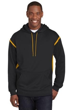 Sport-Tek ®  Tall Tech Fleece Colorblock  Hooded Sweatshirt. TST246