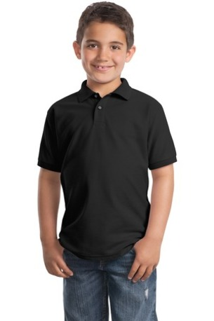 Port Authority ®  Youth Silk Touch- Polo.  Y500
