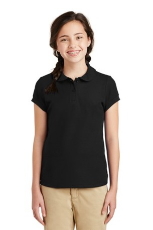 Port Authority ®  Girls Silk Touch -  Peter Pan Collar Polo. YG503