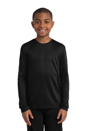 Sport-Tek ®  Youth Long Sleeve PosiCharge ®  Competitor- Tee. YST350LS