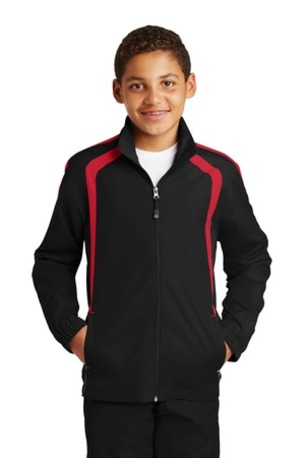 Sport-Tek ®  Youth Colorblock Raglan Jacket. YST60