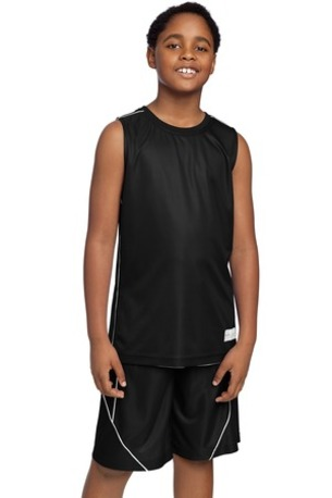 Sport-Tek ®  Youth PosiCharge ®  Mesh Reversible Sleeveless Tee. YT555