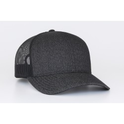 Hat - Heather Trucker Mesh 110c