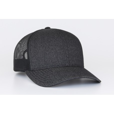 Hat - Heather Trucker Mesh 110c