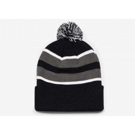 Beanie - loose Fit Pom-Pom knit 641k