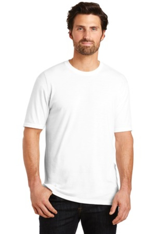 District Made ®  Mens Perfect Tri ®  Crew Tee. DM130
