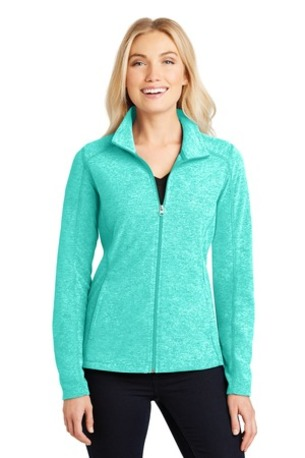 Port Authority ®  Ladies Heather Microfleece Full-Zip Jacket. L235