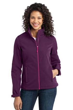 DISCONTINUED  Port Authority ®  Ladies Traverse Soft Shell Jacket. L316