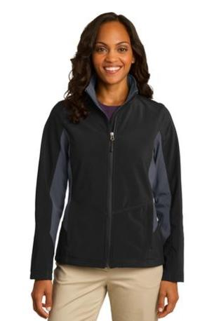 Port Authority ®  Ladies Core Colorblock Soft Shell Jacket. L318
