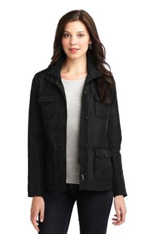 DISCONTINUED  Port Authority ®  Ladies Four-Pocket Jacket. L326