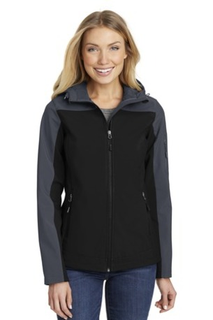Port Authority ®  Ladies Hooded Core Soft Shell Jacket. L335