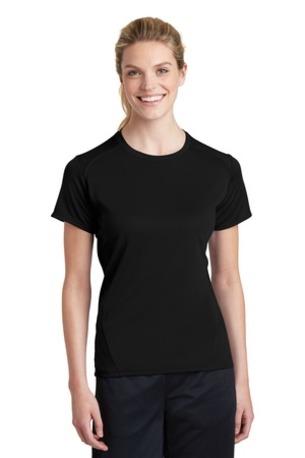 Sport-Tek ®  Ladies Dry Zone ®  Raglan Accent T-Shirt. L473