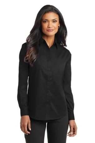 Port Authority ®  Ladies Long Sleeve Value Poplin Shirt. L632