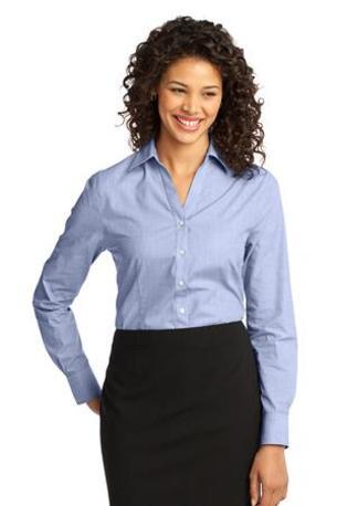 Port Authority ®  Ladies Crosshatch Easy Care Shirt. L640