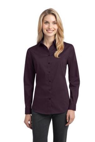 Port Authority ®  Ladies Stretch Poplin Shirt. L646