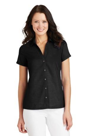 Port Authority ®  Ladies Textured Camp Shirt. L662
