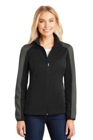 Port Authority ®  Ladies Active Colorblock Soft Shell Jacket. L718