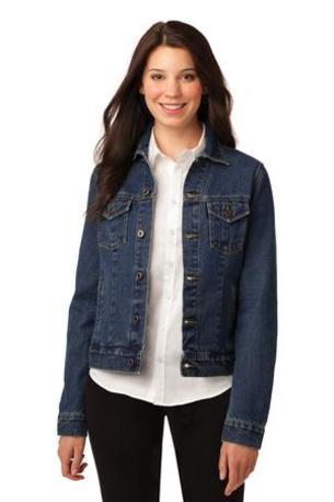 Port Authority ®  Ladies Denim Jacket. L7620