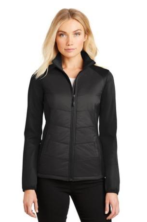Port Authority ®  Ladies Hybrid Soft Shell Jacket. L787