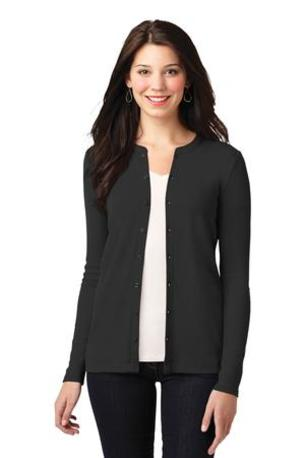 Port Authority ®  Ladies Concept Stretch Button-Front Cardigan. LM1008