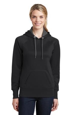 Sport-Tek ®  Ladies Tech Fleece Hooded Sweatshirt.  LST250