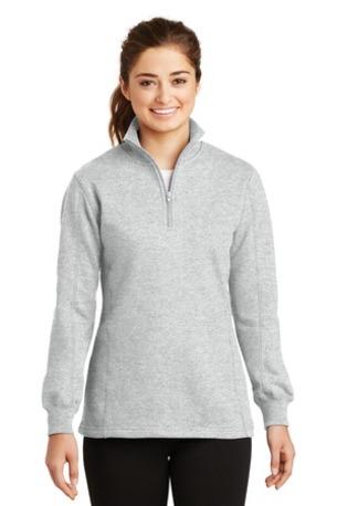 Sport-Tek ®  Ladies 1/4-Zip Sweatshirt. LST253