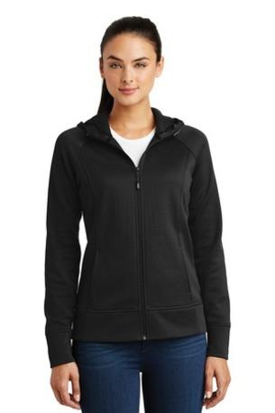 Sport-Tek ®  Ladies Rival Tech Fleece Full-Zip Hooded Jacket. LST295