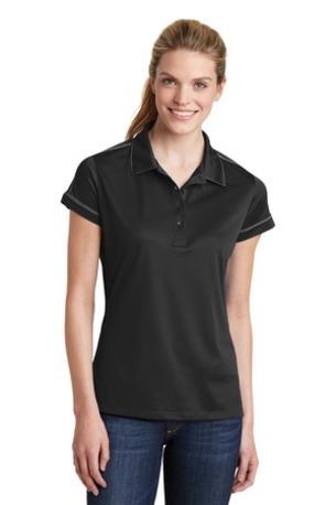 Sport-Tek ®  Ladies Contrast Stitch Micropique Sport-Wick® Polo. LST659