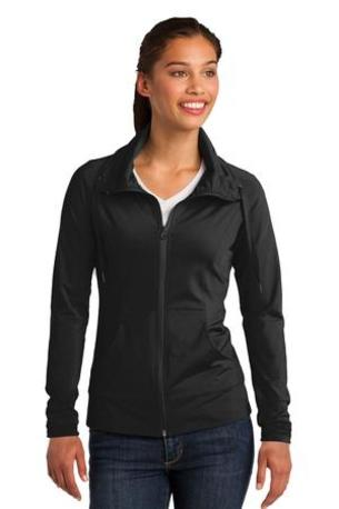 Sport-Tek ®  Ladies Sport-Wick ®  Stretch Full-Zip Jacket. LST852