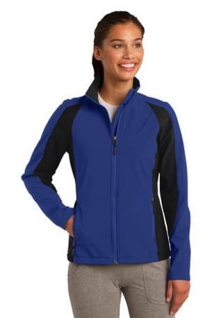 Sport-Tek ®  Ladies Colorblock Soft Shell Jacket. LST970