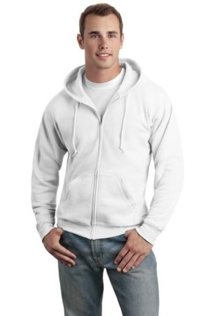 Hanes ®  - EcoSmart ®  Full-Zip Hooded Sweatshirt. P180